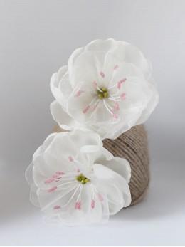 Комплект фиби за коса с цветя Сакура