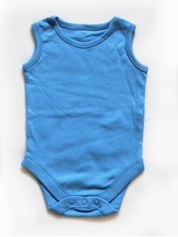 Бебешко боди без ръкав синьо Ex-F&F