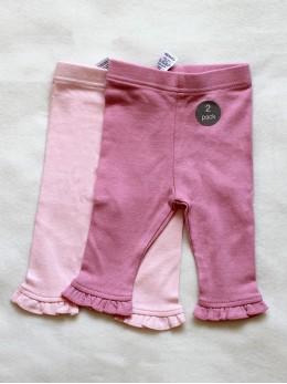 Бебешки клинчет за момиче в розово 2 бр. комплект