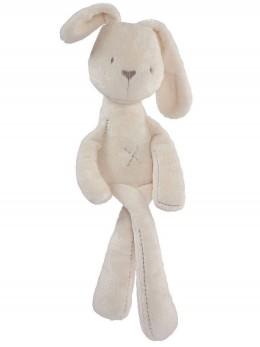 *ИЗЧЕРПАН* Бебешка играчка за успокояване плюшено зайче