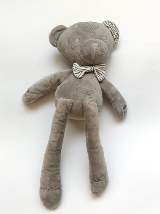 Бебешка играчка за успокояване плюшено мече