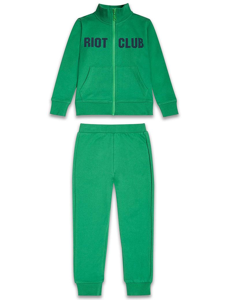 b4c0923d81c Детски спортен комплект за момче лека вата, зелено | Онлайн магазин ...