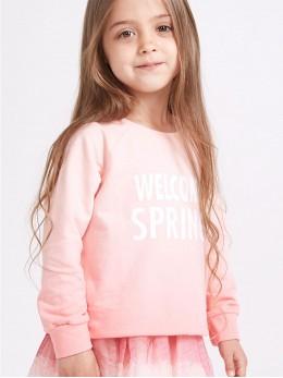 Суитчер за момиче в преливащо розово