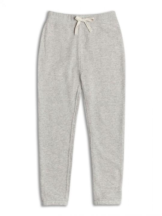 Ватиран спортен панталон за момиче сив