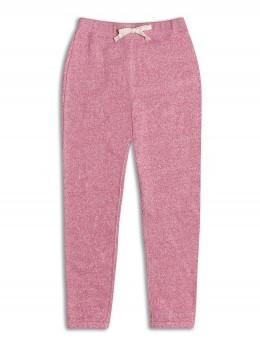 Ватиран спортен панталон за момиче розов