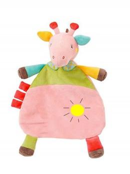 Мека развиваща бебешка играчка-одеялце ЖИРАФЧЕ